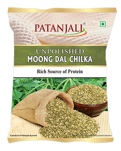 Patanjali Unpolished Moong Dal Chilka