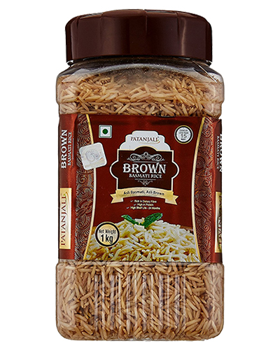 BROWN BASMATI RICE JAR