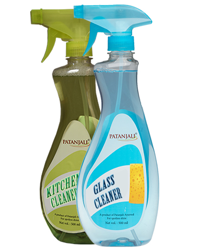 PATANJALI KITCHEN CLEANER PLUS GLASS CLEANER
