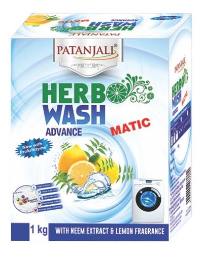 HERBO WASH ADVANCE MATIC DETERGENT POWDER
