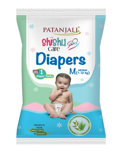 SHISHU CARE BABY DIAPER (MEDIUM-1)