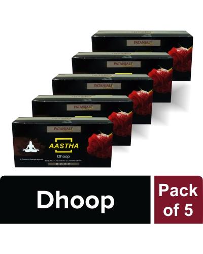 AASTHA DHOOP ROSE (Pack of 5)