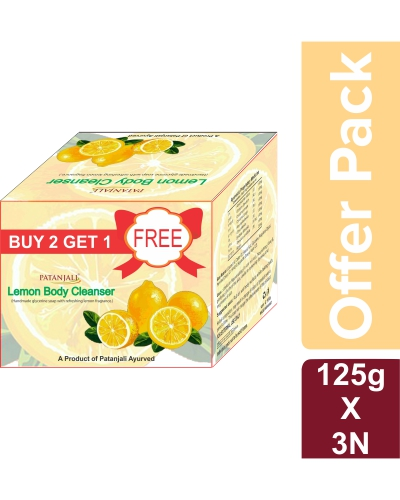 LEMON BODY CLEANSER  125 GM - OFFER PACK