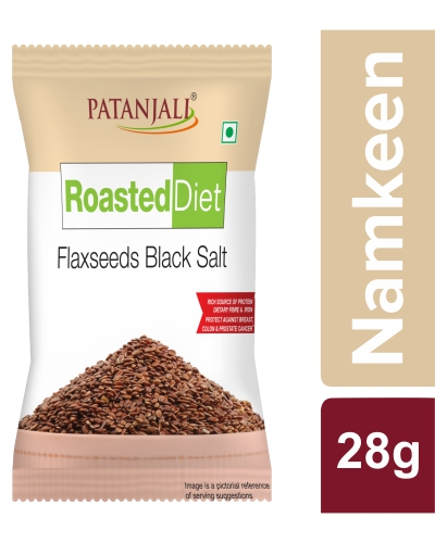 ROASTED DIET-FLAXSEED BLACK SALT