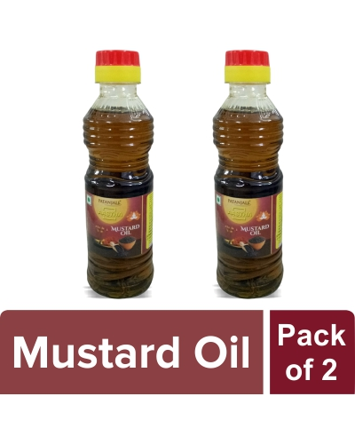 AASTHA MUSTARD OIL (Pack of 2)