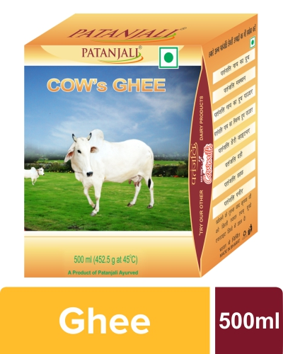 PATANJALI COW'S GHEE 500 GM