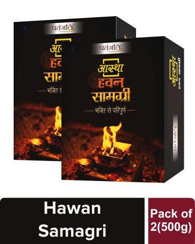 AASTHA HAWAN SAMAGRI (Pack of 2)
