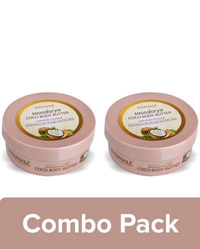 SAUNDARYA COCO BODY BUTTER CREAM (Pack of 2) - 200 GM
