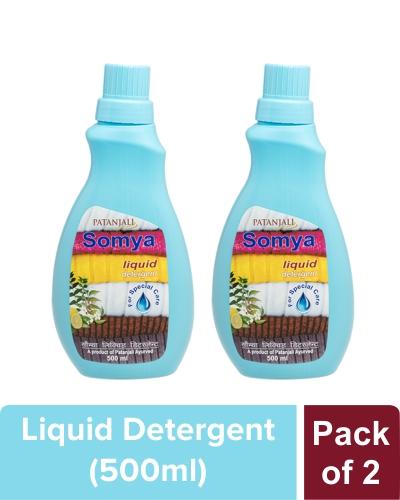 SOMYA LIQUID DETERGENT - 500 ml (Pack of 2)