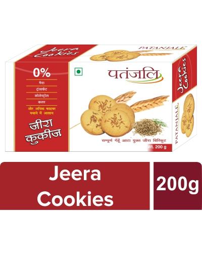 Patanjali Jeera Cookies 200 G - T