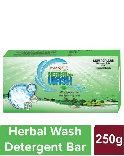 HERBAL WASH DETERGENT CAKE  - 250 gm (Pack of 2)