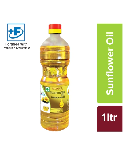 PATANJALI SUNFLOWER OIL 1 LTR.
