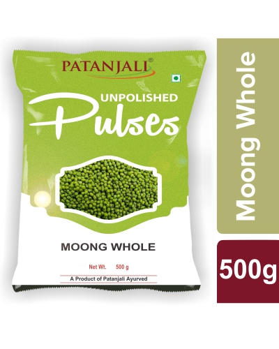 Patanjali Unpolished Moong Sabut