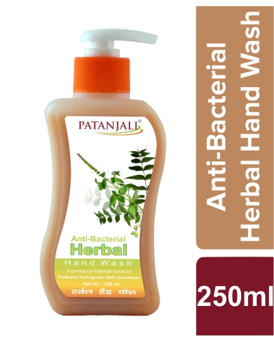 PATANJALI HERBAL HAND WASH (ANTI BACTERIAL)