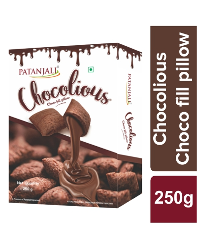 CHOCOLIOUS-CHOCO FILL PILLOW