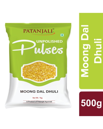 Patanjali Unpolished Moong Dal Dhuli