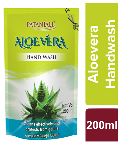 PATANJALI ALOEVERA HAND WASH(REFILL)