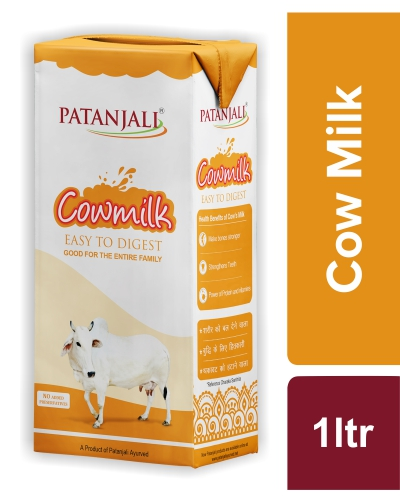COW MILK (WITH STRAW)