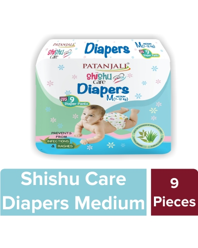 Shishu Care Baby Diaper (Medium-9)