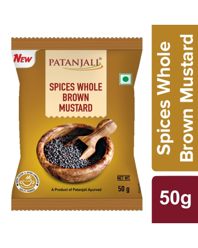Patanjali Whole Brown Mustard (Rai)