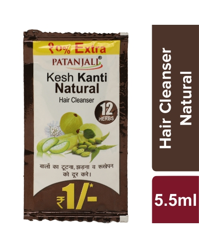 KESH KANTI HAIR CLEANSER NATURAL 5.5 ML