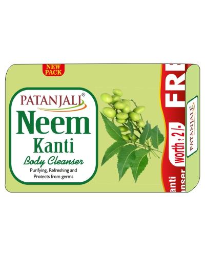 Patanjali Neem Kanti Body Cleanser 75g Co Sachet Rs2