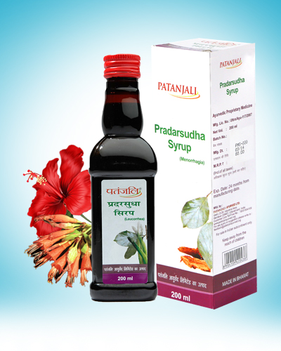 PRADARSUDHA SYRUP (FOR POST MENOPAUSAL SYNDROME)