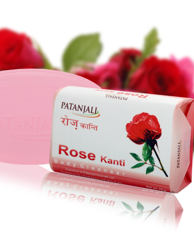PATANJALI ROSE BODY CLEANSER