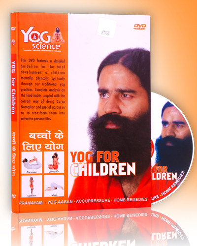 YOG FOR CHILDREN HINDI/ENGLISH DVD