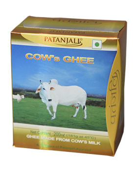 PATANJALI COWS GHEE ( Best Before: 28 June,2019)