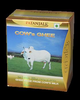 PATANJALI COWS GHEE ( Best Before: 28 June,2019)