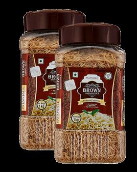 BROWN BASMATI RICE (Pack of 2)
