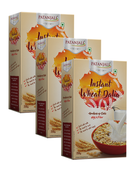 INSTANT WHEAT DALIA (Pack of 3)