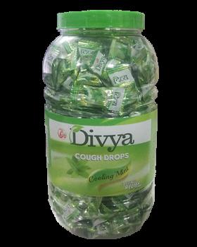 DIVYA COUGH DROPS - MINT (JAR)