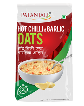 HOT CHILLI & GARLIC OATS 200Gm
