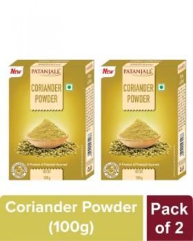 CORIANDER POWDER - 100 gm (Pack of 2)