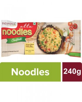 Patanjali Atta Noodles Chatpata - Family Pack