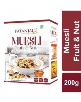 MUESLI FRUIT & NUT
