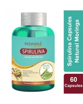 SPIRULINA CAPSULE WITH MORINGA - 60 tabs