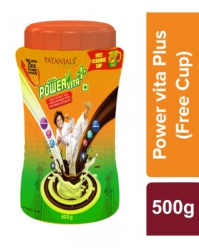 Patanjali Herbal Powervita Plus with Free Cup